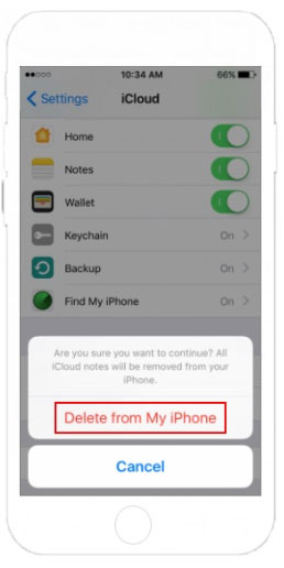 how to remove all contacts on iphone at once via icloud settings
