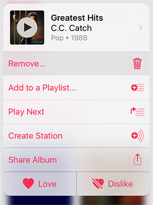 delete songs from iphone but keep them on itunes using music app