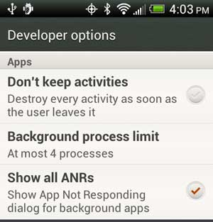 clear android message notifications