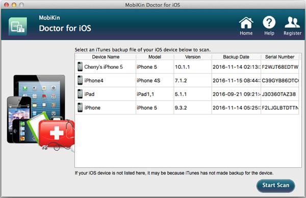 MobiKin Doctor - 手机数据恢复软件[OS X]丨反斗限免