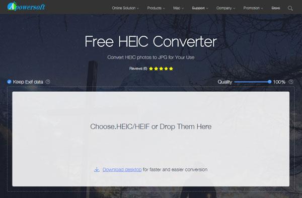 heic to jpg converter like apowersoft free heic converter