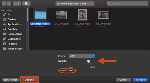how to convert heic to png on mac via preview