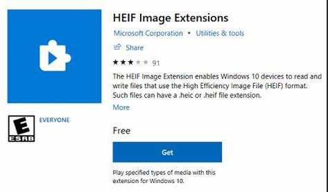 how to convert heic to jpg on pc via heif image extensions