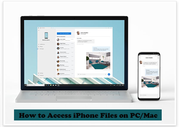 access iphone files on pc