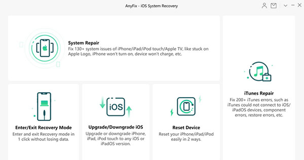 ios repair software like anyfix ios system recovery