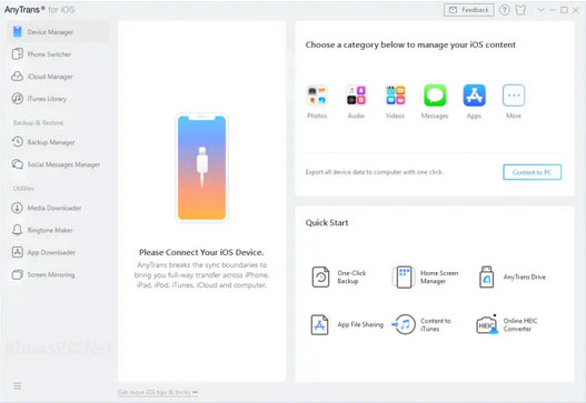 iphone sync software like anytrans