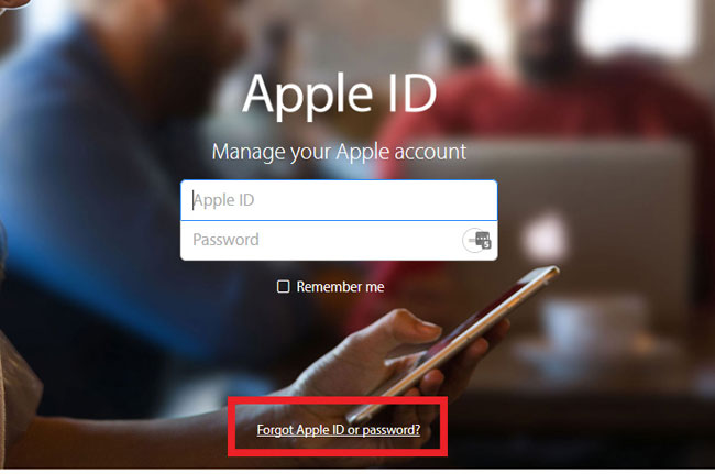 how to delete icloud account from iphone online