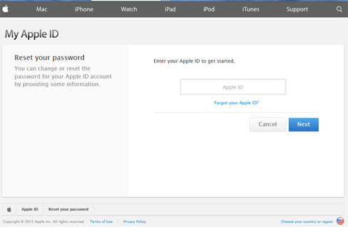 how to change email password on iphone 5