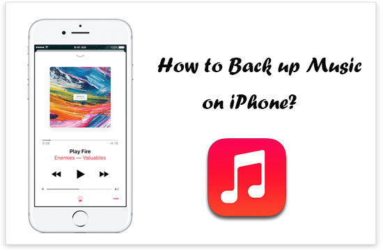 how to backup music on iphone