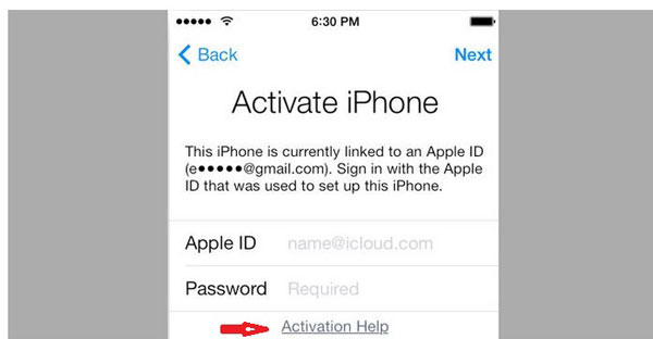 bypass icloud activation via dns