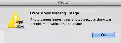 can t import photos from iphone to mac