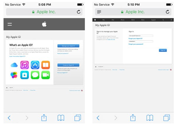 How to change icloud email on iphone 6s