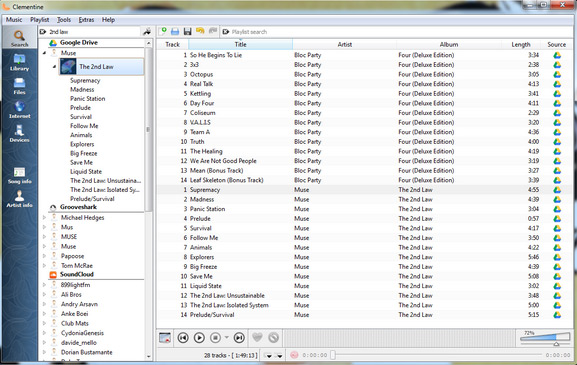 alternative to itunes for windows like clementine