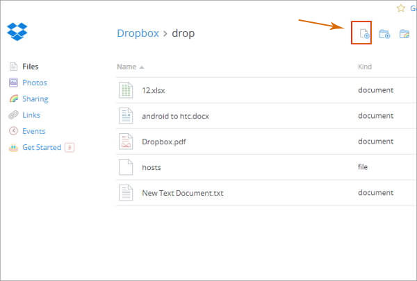 how to transfer documents from oneplus to iphone via dropbox