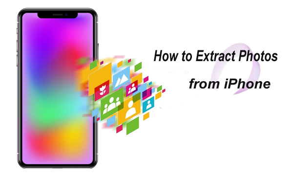 how to extract photos from iphone