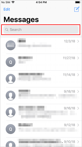 How to Find Old Text Messages on iPhone in Messages App