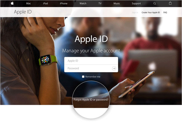 how to sign out of icloud without password by creating a new passcode