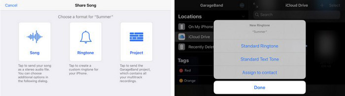 how to set ringtone in iphone without itunes using garageband