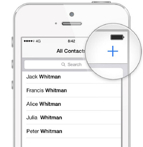 add contacts to whatsapp on iphone