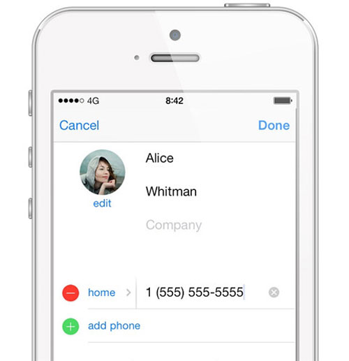 sync iphone contacts to whatsapp