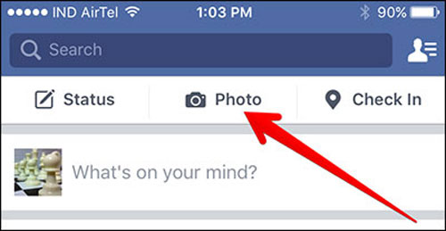 upload videos on facebook
