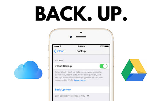 backup iphone without computer
