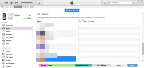 how to transfer files from iphone to mac with itunes