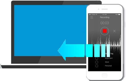 how to transfer voice memos from iphone to computer without itunes