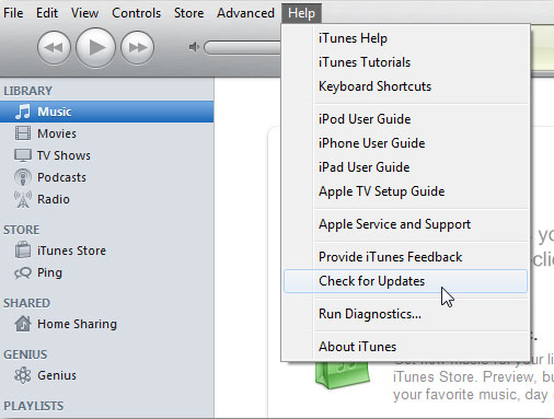 update itunes version