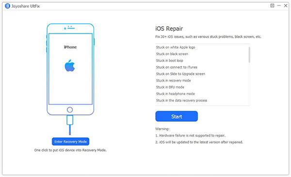iphone repair utility like joyoshare ultfix