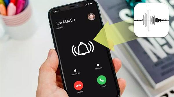 make a voice memo a ringtone