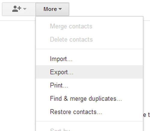 how to sync gmail contacts to iphone