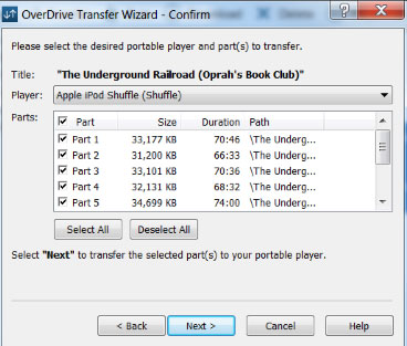 how to sync audiobooks to iphone via overdrive