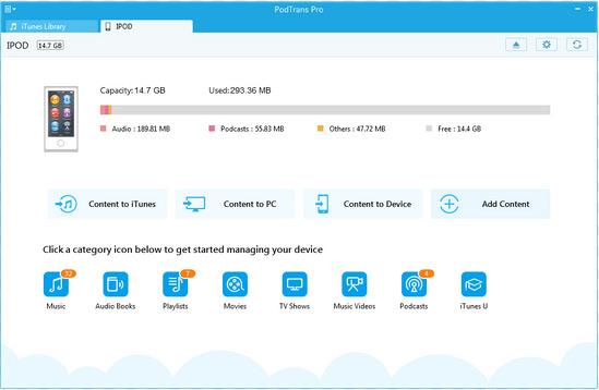 ipod data transfer software like podtrans