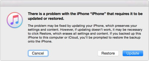 restore iphone backup on itunes