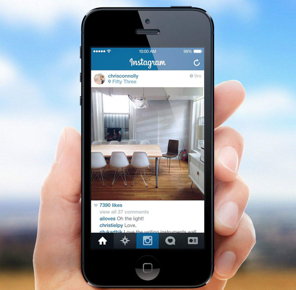 how to sync instagram photos to iphone