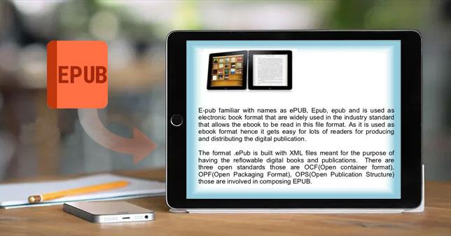how to transfer epub files to ipad