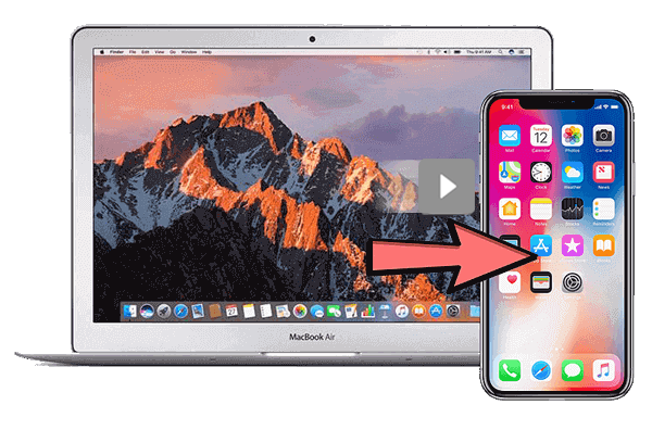 transfer videos from mac to iphone