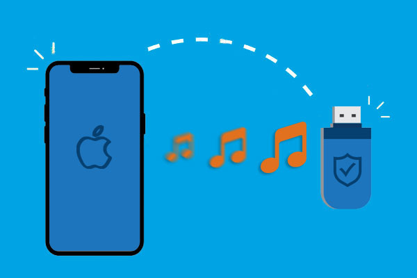 transfer music from iphone to flash drive