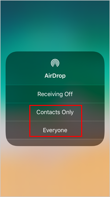 AirDrop Photos from Computer to iPhone - 2