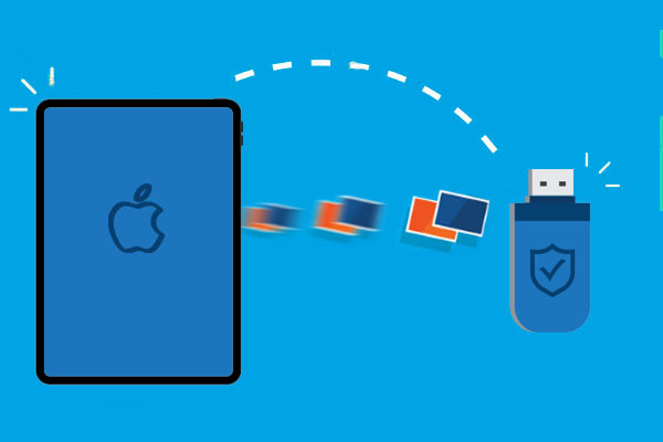 how to transfer photos from ipad to flash drive
