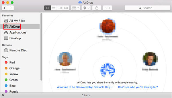 how to transfer photos from iphone to pc with airdrop