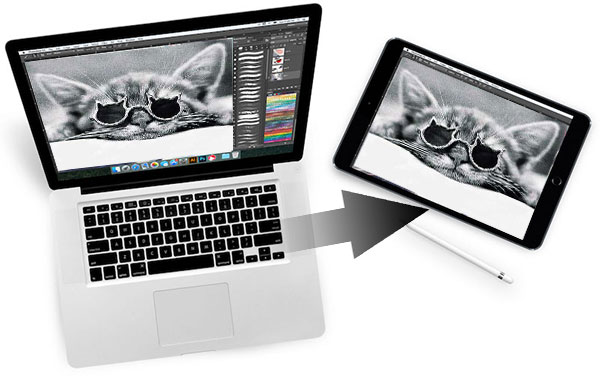 how to transfer photos from mac to ipad