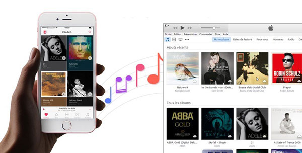 how to sync playlist from itunes to iphone