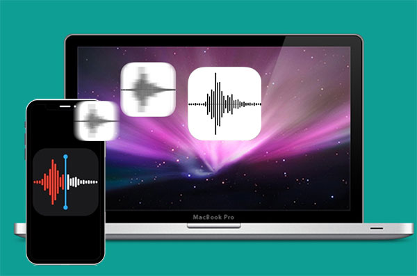transfer voice memos from iphone to mac