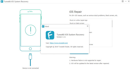 ios fix software like tuneskit ios system recovery