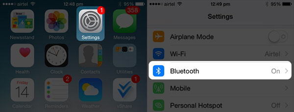 disable iphone bluetooth