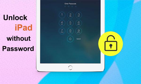 unlock ipad without password