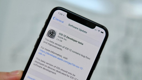 update to ios 12