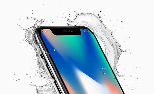 water resistant with iphone 8 and iphone x